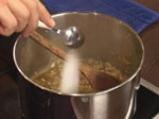 Капелини със сметанов сос и миди 3