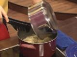 Капелини със сметанов сос и миди 8