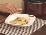 Капелини със сметанов сос и миди 9