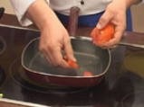 Купичка от пармезан със зеленчуци и песто 5