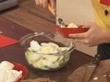 Чийзкейк с карамелизирани ябълки 2