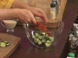 Царевична салата с броколи и дресинг