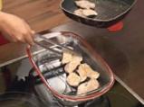 Запечено пилешко с тиквички и патладжан 3