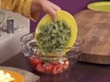 Зелен фасул с картофи и сос от тиквено семе 6