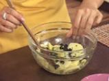 Подлучени картофи с маслини 5