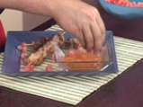 Свински шишчета с динен барбекю сос 8
