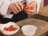 Пълнени чери домати с миди и пастет от маслини 4