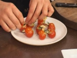 Пълнени чери домати с миди и пастет от маслини 7