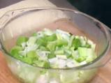 Броколи с праз на микровълнова фурна