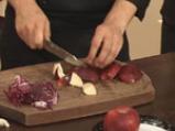 Гъши дроб с манатарки и радичо със сорбе от манго 4