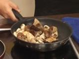 Гъши дроб с манатарки и радичо със сорбе от манго 6