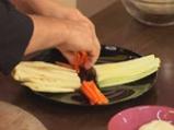 Зеленчуково плато с топено сирене на микровълнова фурна 3