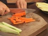 Зеленчуково плато с топено сирене на микровълнова фурна 8