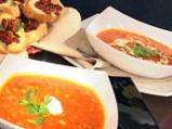 Доматена супа с брускети