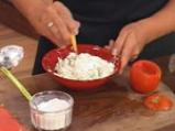Пълнени домати с броколи и извара 4