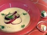 Супа със синьо сирене