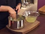 Млечна супа със зеленчуци и малко магданоз 5