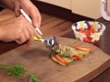 Пълнени чушки с пастет от патладжани и сусамов тахан 6