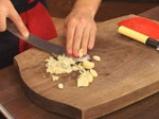 Лучена супа с праз и топено сирене 4