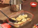 Пълнени круши със сушени плодове и белтъчна коричка 4