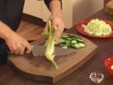 Зеленчукова салата с фенел и пушена риба 2