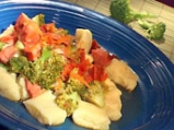 Ньоки с наденица и броколи