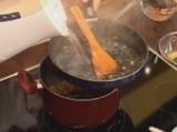 Супа от червена леща с маслинени кротончета 4