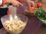 Зеленчукова салата с калмари и ризони 8