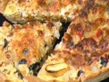 Лучена тарта с маслини
