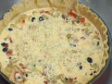Лучена тарта с маслини 5