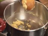 Супа от зелени маслини и праз 6