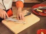 Пъстърва с броколи и спанак