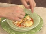 Забулени яйца с пушен кашкавал 8