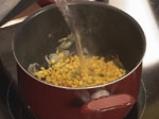 Пиле с картофи и царевица 6