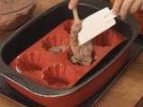 Шоколадов пудинг с лешници 5