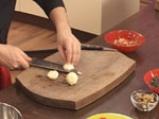 Пиле с оризово дуо и зеленчуци
