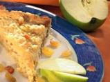 Ябълкова пита с орехи и стафиди