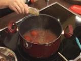 Крем супа от домати с мус от сирене 3
