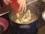 Пилешка супа със спанак и картофи 5