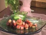 Салата с рулца от раци и картофи 8