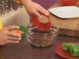Топчета от леща в кокосово-доматен сос