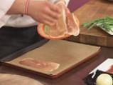 Тартар от сьомга с мус от горчица