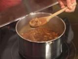 Гъбена супа с тъмна бира и ечемик 5