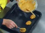 Тиквени бисквити със златисто-маслена глазура 3