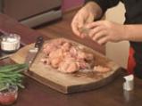 Пилешко странджански кебап