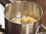 Суфле от царевица с коктейлни скариди