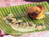 Суфле от царевица с коктейлни скариди 10