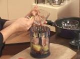 Забулени яйца с пюре от гъби 3
