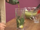Скумрия в зелен сос и грахови тиганици 7