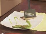 Скумрия в зелен сос и грахови тиганици 8